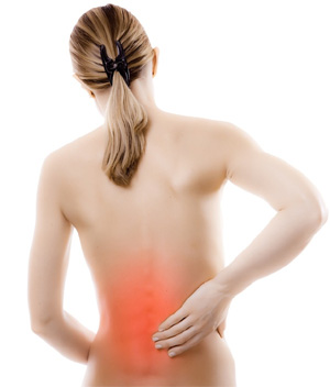 Durere la nivelul coloanei vertebrale in timpul ascu?it