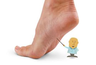 piciorul meu drept este umflat și dureros